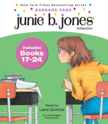 Junie B. Jones Collection Books 17-24 Cover