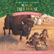 Magic Tree House #18: Buffalo Before Breakfast Cover