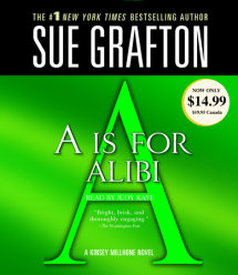 A Is For Alibi Cover