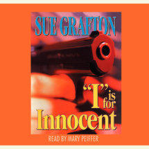 I Is For Innocent Cover