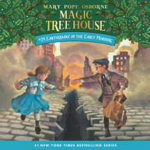 Magic Tree House #24: Earthquake in the Early Morning Cover