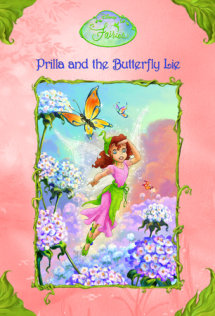 Disney Fairies: Prilla and the Butterfly Lie #8 Cover