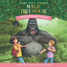 Magic Tree House #26: Good Morning, Gorillas Cover