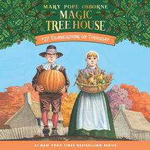 Magic Tree House #27: Thanksgiving on Thursday Cover