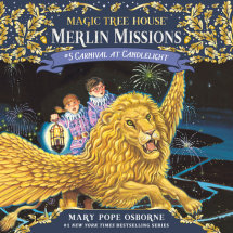 Magic Tree House #33: Carnival at Candlelight Cover