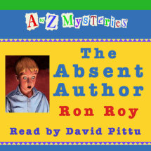 A to Z Mysteries: The Absent Author Cover