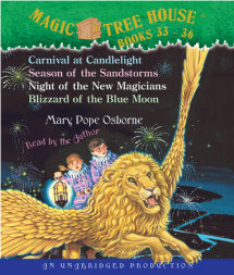 Magic Tree House: Books 33-36 Cover