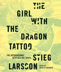 The Girl with the Dragon Tattoo Cover