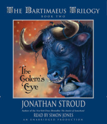 The Bartimaeus Trilogy, Book Two: The Golem's Eye Cover