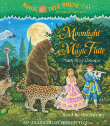 Magic Tree House #41: Moonlight on the Magic Flute Cover