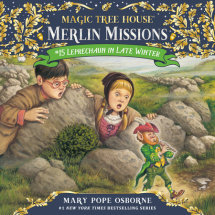 Magic Tree House #43: Leprechaun in Late Winter Cover