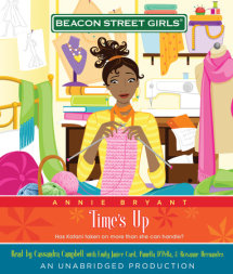 Beacon Street Girls #12: Time's Up Cover