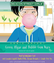 Beacon Street Girls #13: Green Algae and Bubblegum Wars Cover