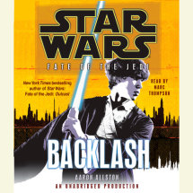 Backlash: Star Wars (Fate of the Jedi) Cover