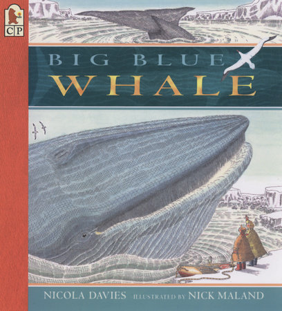 Big Blue Whale Big Book by