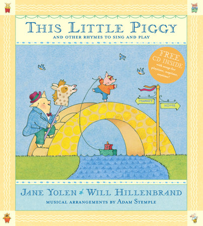 This Little Piggy with CD by