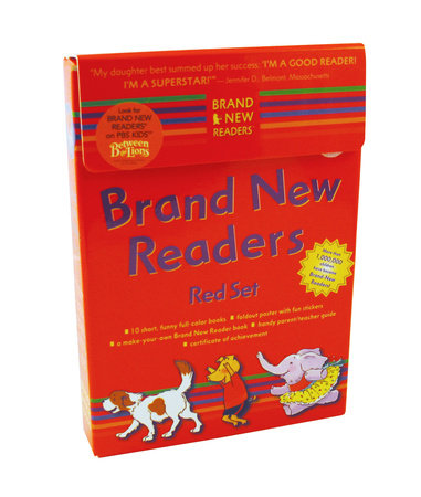 Brand New Readers Red Set by Various