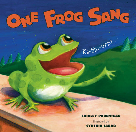 One Frog Sang by