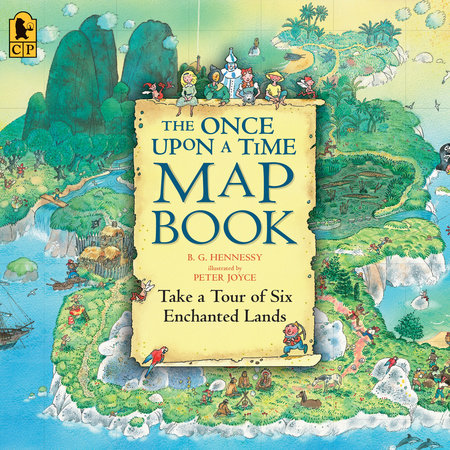 The Once Upon a Time Map Book by