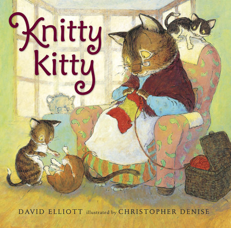 Knitty Kitty by David Elliott