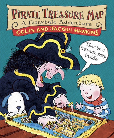 Pirate Treasure Map by Colin Hawkins and Jacqui Hawkins