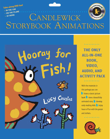 Hooray for Fish!: Candlewick Storybook Animations by Lucy Cousins