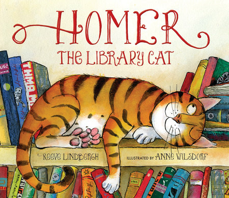 Homer, the Library Cat by