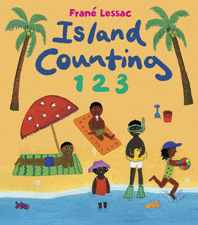Island Counting 1 2 3 by Frane Lessac
