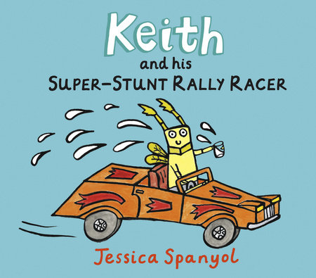 Keith and His Super-Stunt Rally Racer by