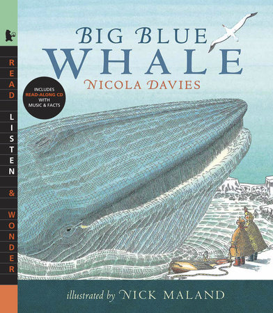 Big Blue Whale with Audio by