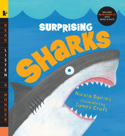 Surprising Sharks with Audio by Nicola Davies