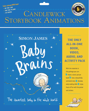 Baby Brains: Candlewick Storybook Animations by Simon James