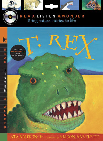 T. Rex with Audio, Peggable by Vivian French
