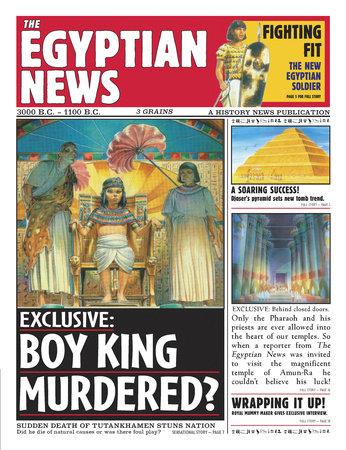 History News: The Egyptian News by Scott Steedman