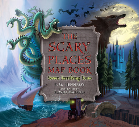 The Scary Places Map Book by