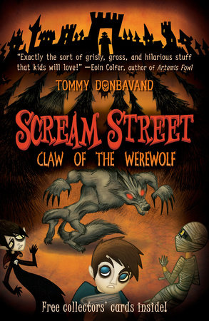 Scream Street: Claw of the Werewolf by Tommy Donbavand