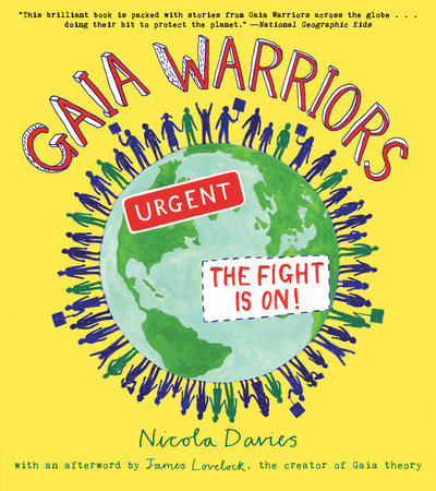 Gaia Warriors by Nicola Davies and James Lovelock