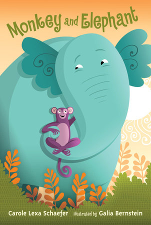 Monkey and Elephant by Carole Lexa Schaefer