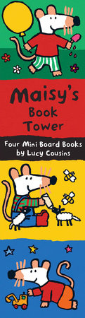 Maisy's Book Tower by Lucy Cousins