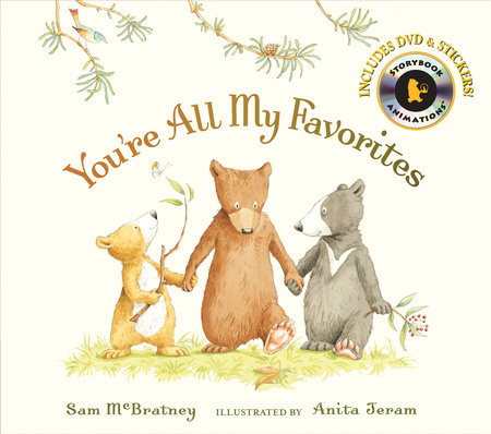 You're All My Favorites with Audio by Sam McBratney