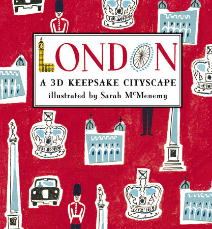 London: A 3D Keepsake Cityscape by Sarah McMenemy