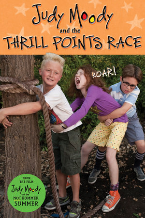 Judy Moody and The Thrill Points Race (Judy Moody Movie tie-in) by Jamie Michalak
