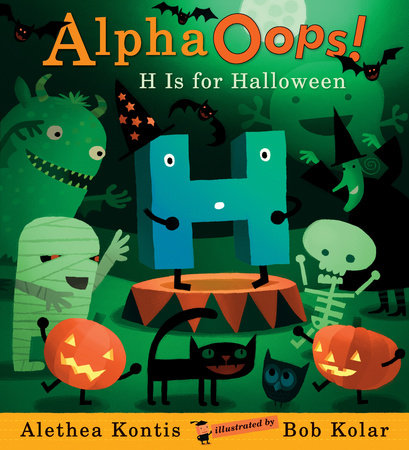 AlphaOops: H Is for Halloween by