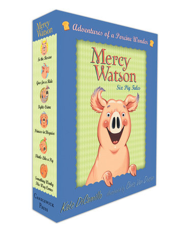 Mercy Watson Boxed Set: Adventures of a Porcine Wonder by Kate DiCamillo