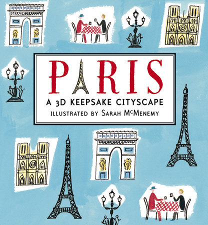 Paris: Panorama Pops by Sarah McMenemy
