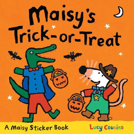 Maisy's Trick-or-Treat Sticker Book by