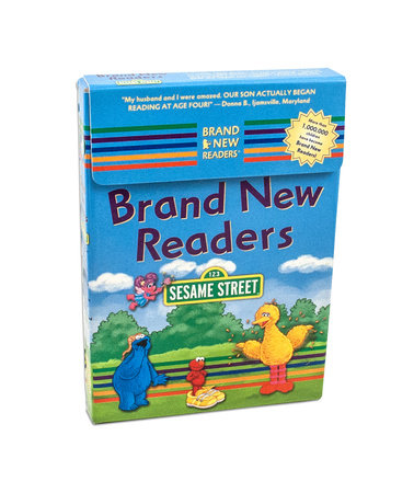 Sesame Street Brand New Readers Box Set by