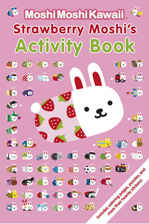 MoshiMoshiKawaii: Strawberry Moshi's Activity Book by Mind Wave Inc.