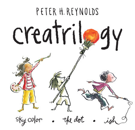 Peter Reynolds Creatrilogy Box Set (Dot, Ish, Sky Color) by