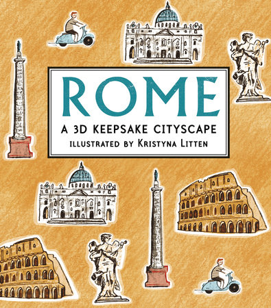 Rome: A 3D Keepsake Cityscape by